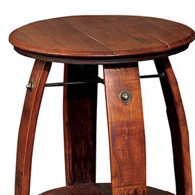 2 day designs barrel end table
