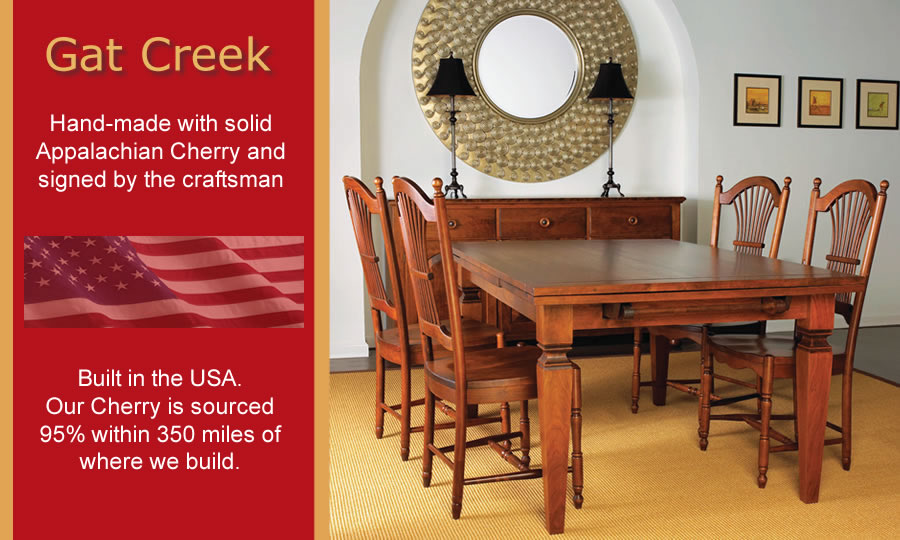 Perfect Gat Creek Dining Tables ...