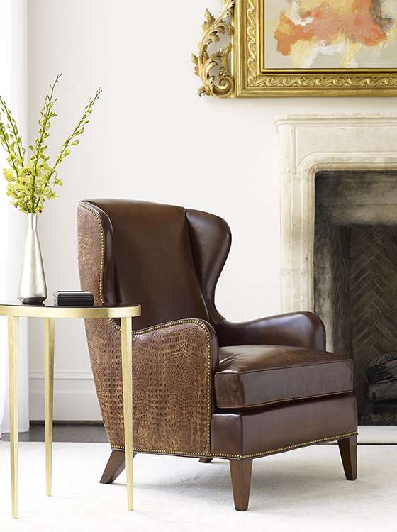 Shop For Hancock And Moore Chairs In Kansas At Traditions