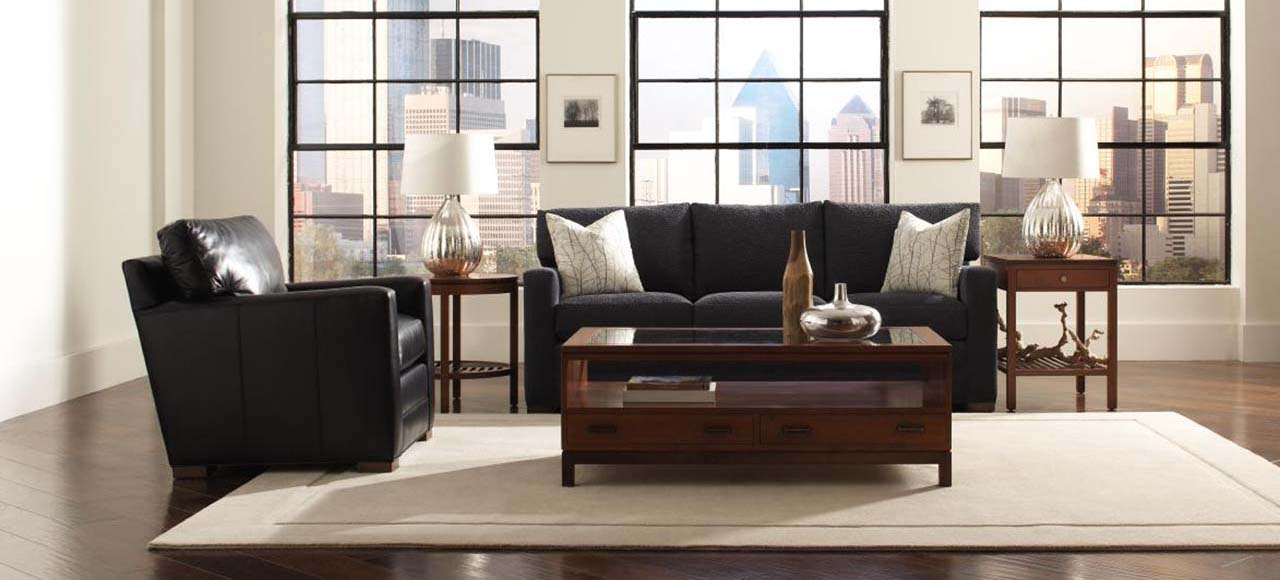 ... Stickley 200 Series Leather Sofa ...