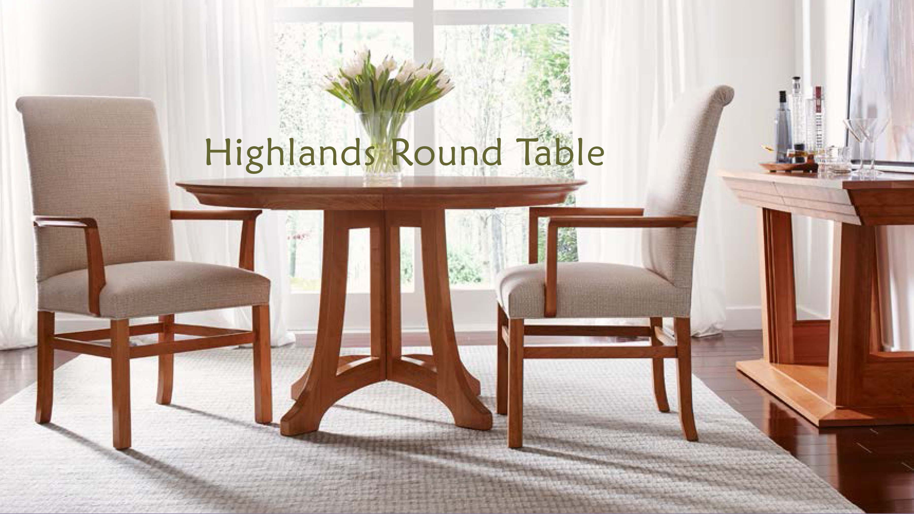 highlands round table stickley