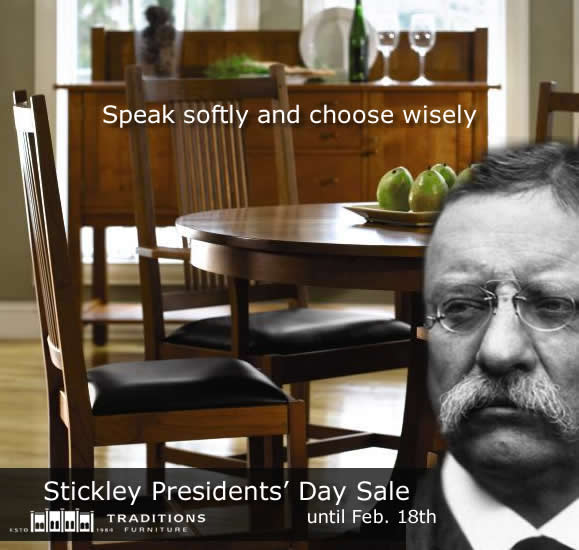 stickley mission dining
