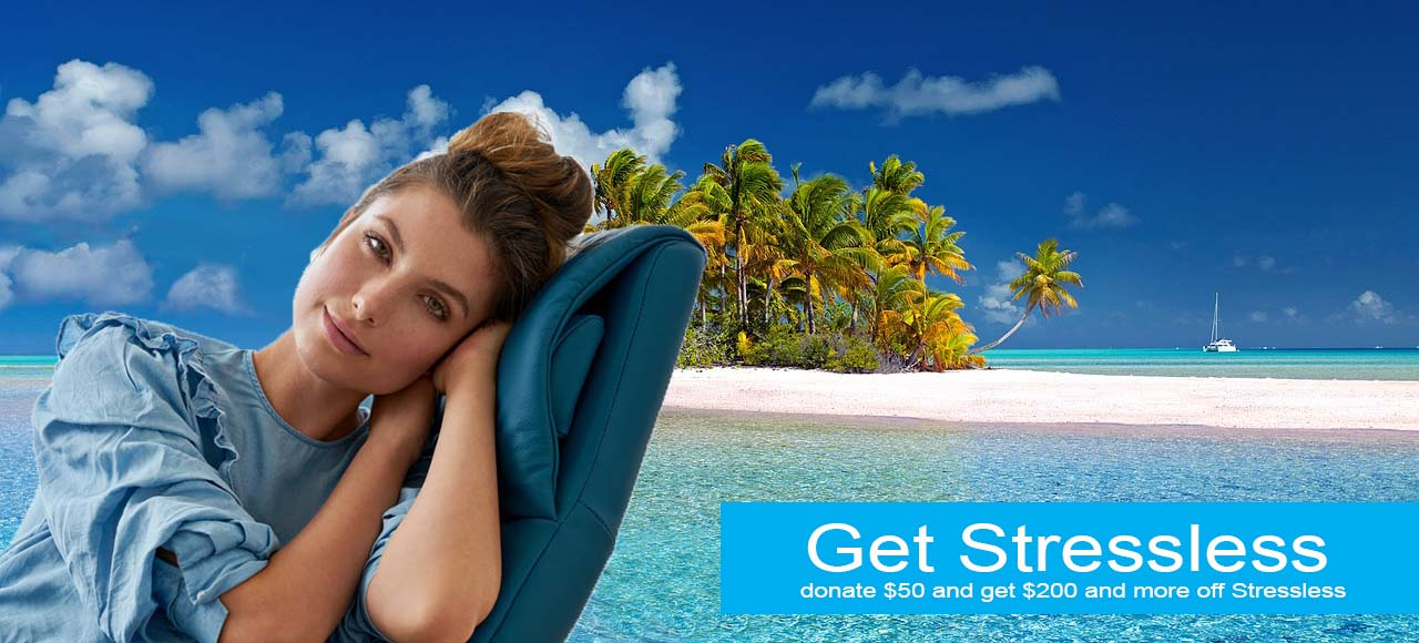 get stressless charity promotion
