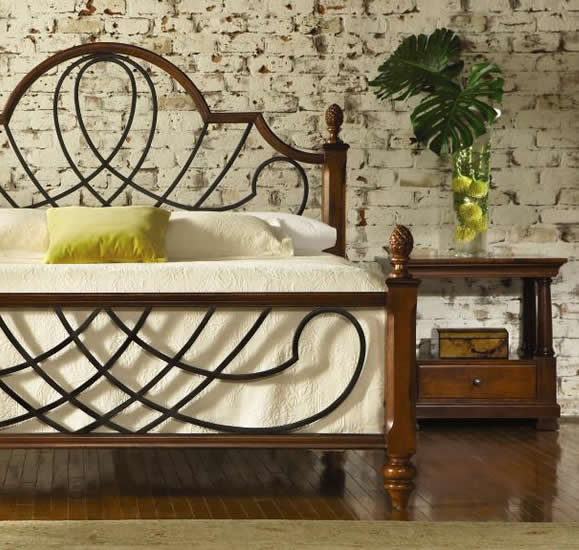 cypher bed williamsburg collection nichols and stone