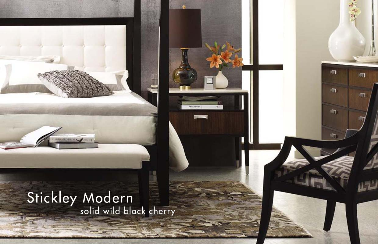 stickley modern 5th avenue bed