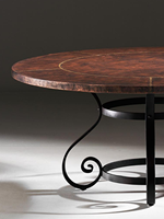 charleston forge copper table