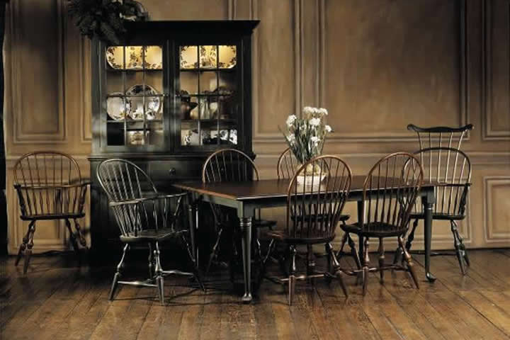 nichols stone hutch windsor chair