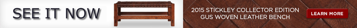 stickley 2015 collector edition bench