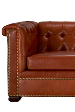 Leathercraft chesterfield sofa