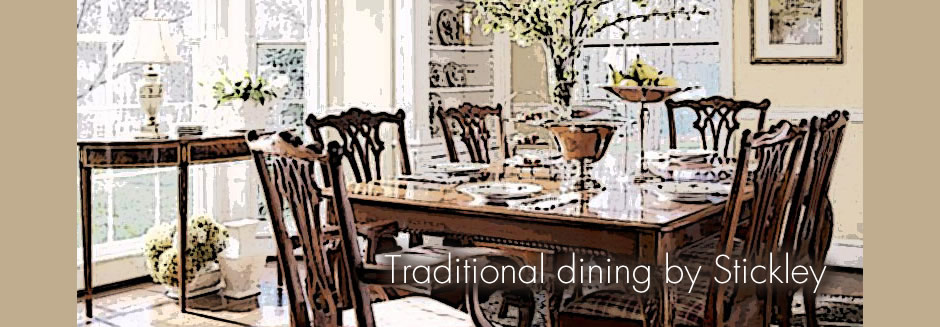 stickley traditional dining chippendale chairs
