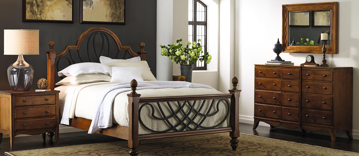 cypher bed by Nichols and Stone furniture
