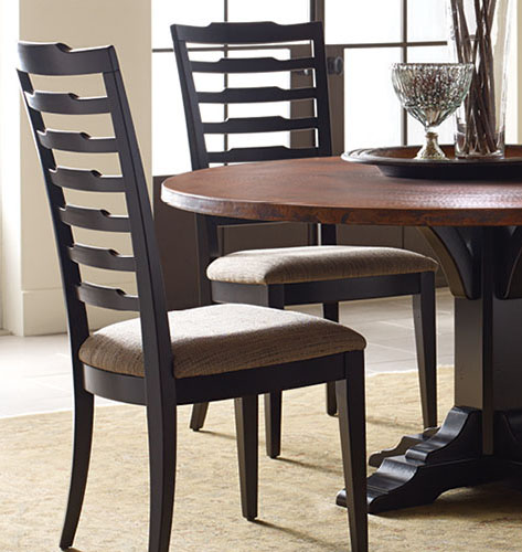 Nichols and Stone dining tables and chiars