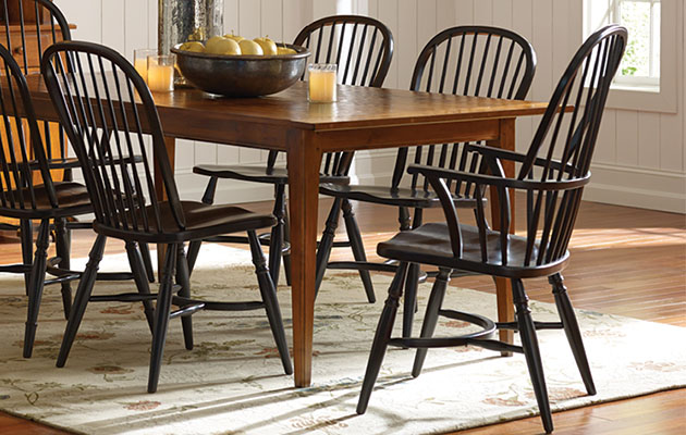 Beau Nichols And Stone Windsor Chairs