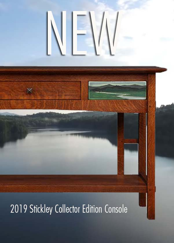 Stickley 2019 collector edition console