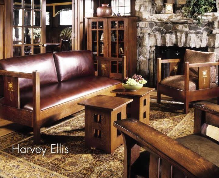harvey ellis sofa stickley