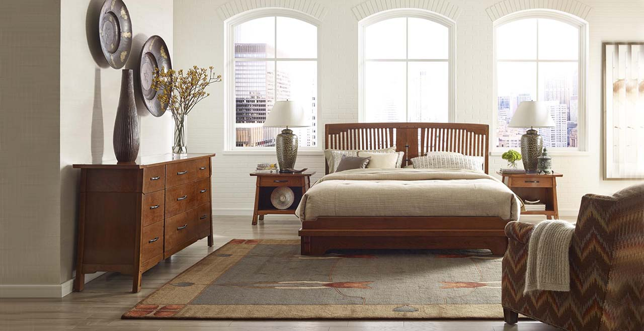 Attirant Pasadena Bungalow Platform Bed By Stickley