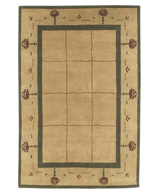 Wild Rose Stickley Rug