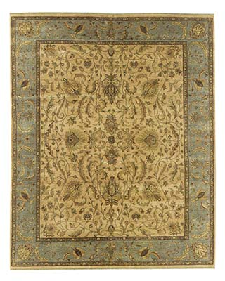 Superior Mahal Aquamarine Stickley Rug