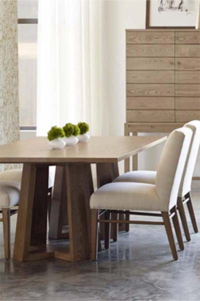 Modern Loft Dining Studio By Stickley