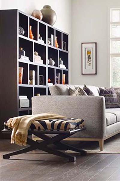 Modern Loft Bookcase