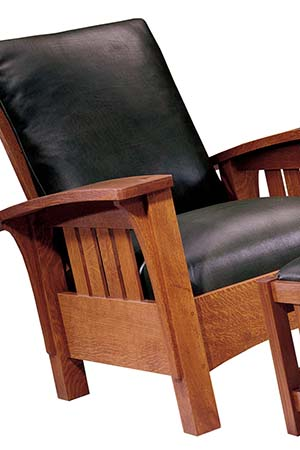 Stickley Furniture bow arm morris chair