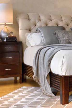 Stickley Furniture bedroom Leopold bed
