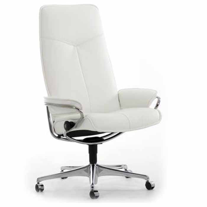City high back Stressless office chair