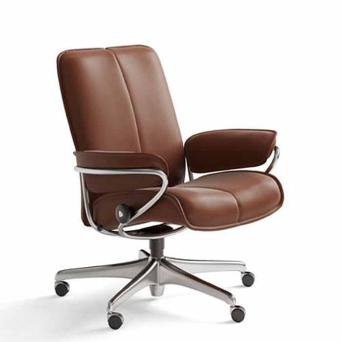 Stressless City low back office chair