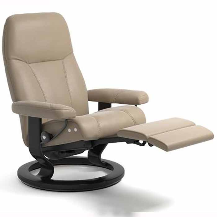 consul stressless recliner classic base