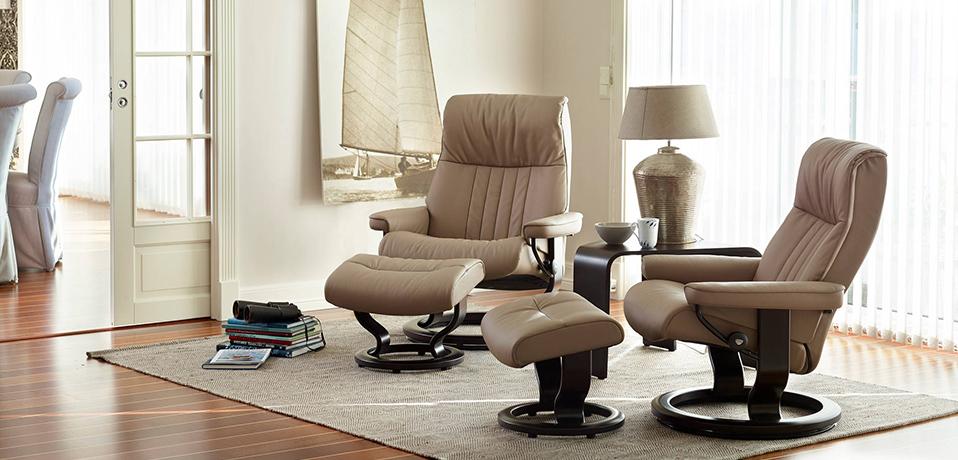 stressless crown recliner - Stressless Chair