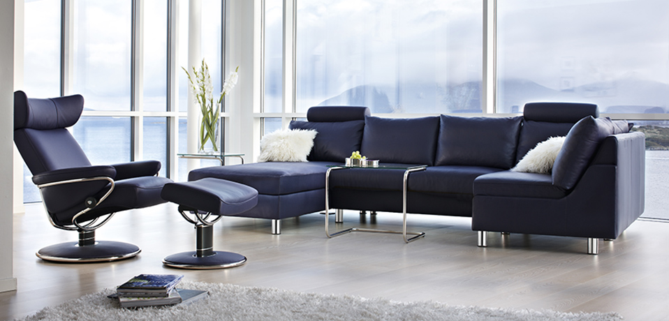 stressless leather recliners