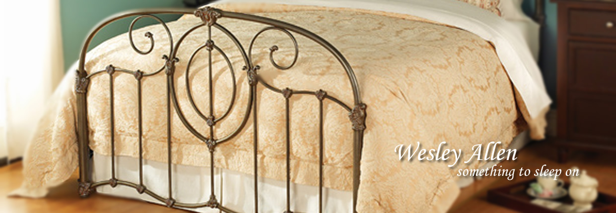 wesley allen adair iron bed